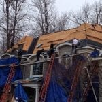 roof tear off